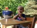 Rose's Birthday Muffin