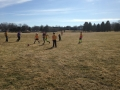 Playing Soccer