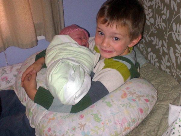 Elliot Holding Lucia