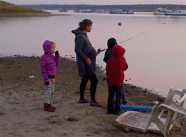 The Baby Fishing