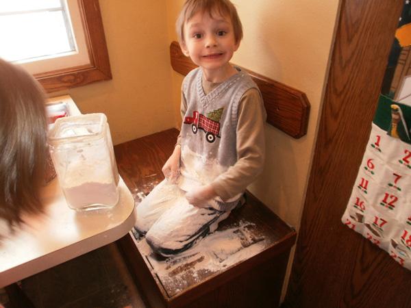 Elliot's Flour Spill