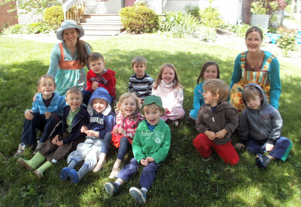 The 2013 Playgarden Class