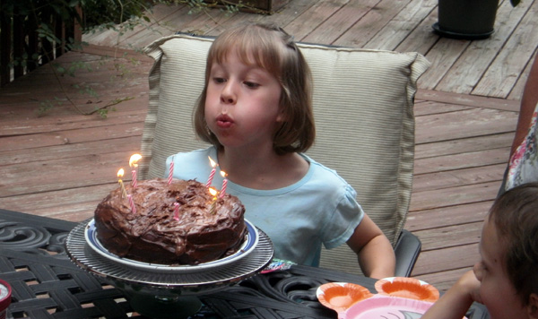 Mari's 8th Birthday