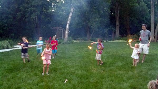 Pre-Fireworks Revelry
