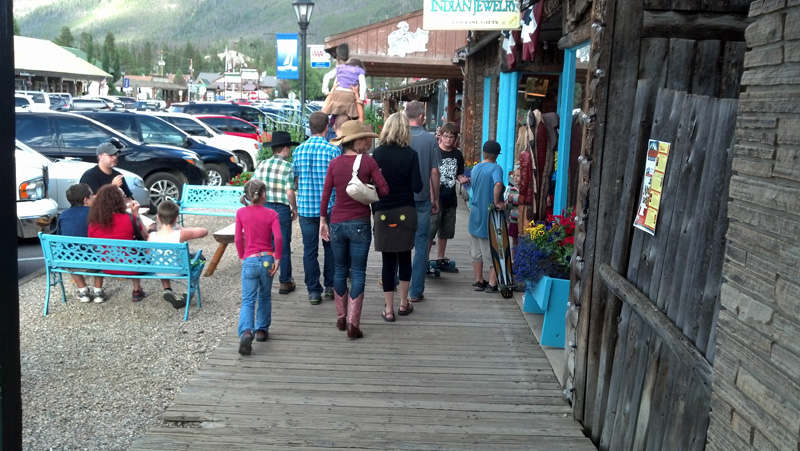 Headed to the Square Dance