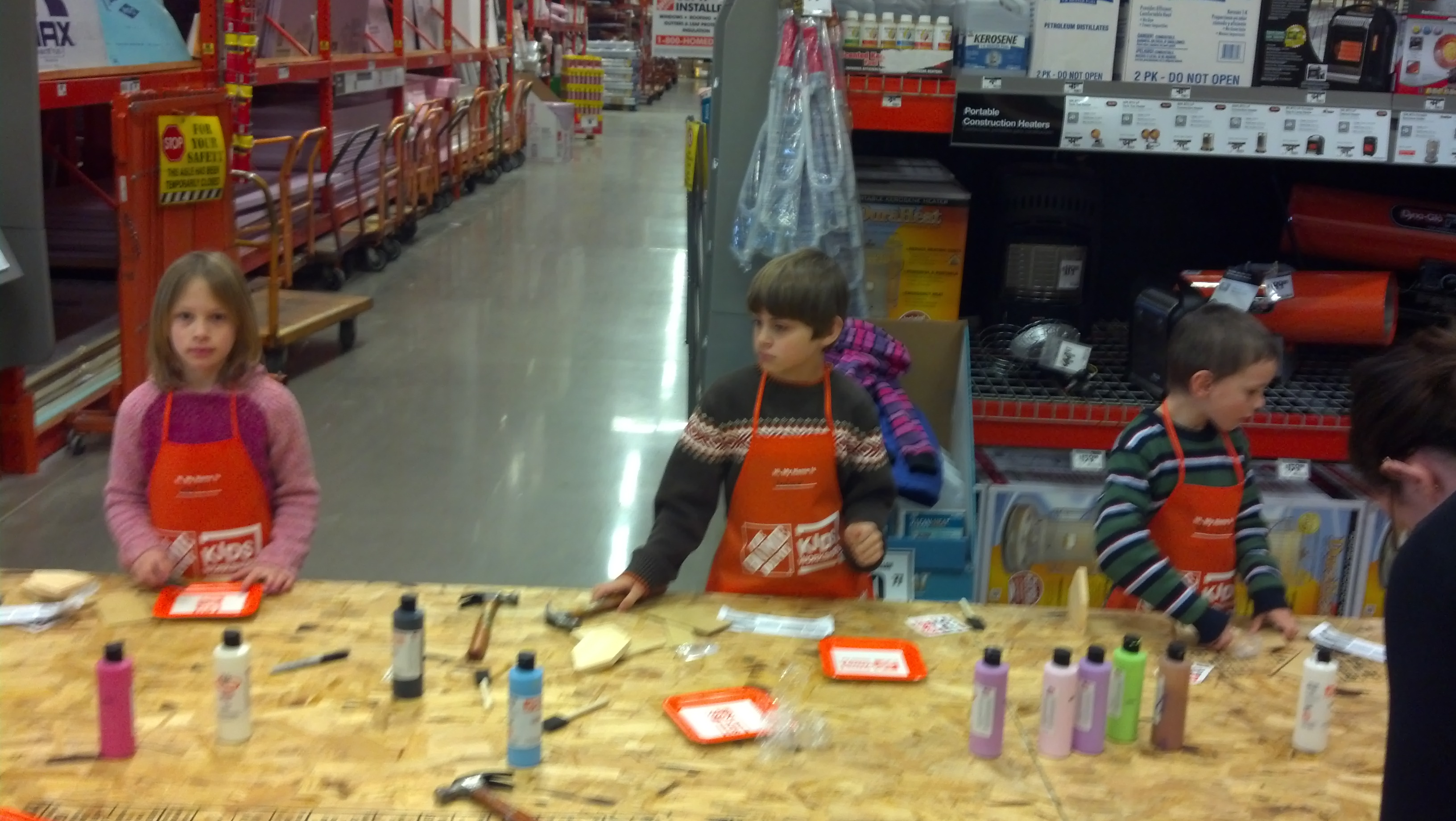 Home Depot Kids Workshop Liesland