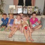 Henry, Elsie, Madelyn, Elliot, Lucia, Andrew, Mari, Sawyer