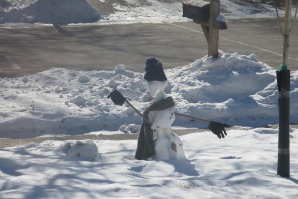 Emaciated Snowman