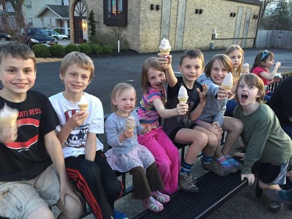 Ice Cream at Snookies!