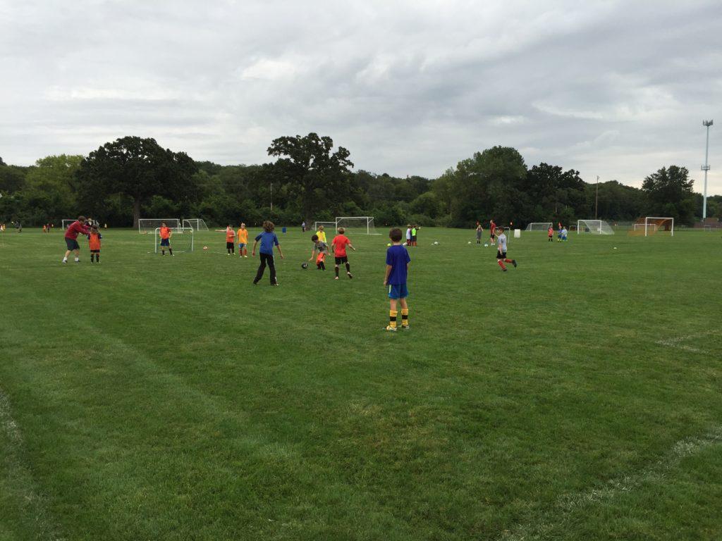 Elliot's Soccer Practice